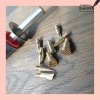detail eenvoudige brander voor hout en leer