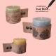 hippe kaarsen met leer doebox voor thuis
