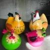 knutselpakket dieren kippen
