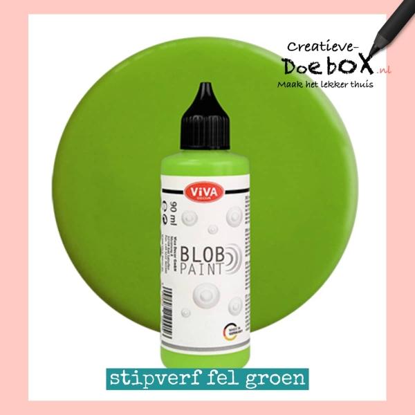 stipverf fel groen flesje 90 ml