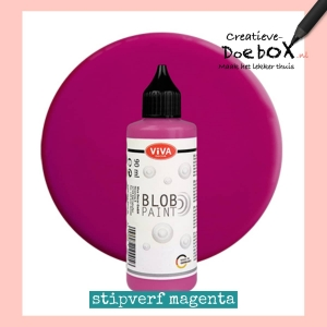 stipverf in flesje 90 ml magenta