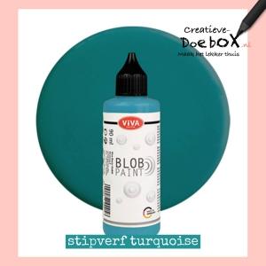 turquoise stipverf in flesje 90 ml kopen