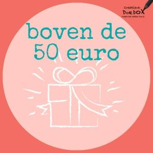 Cadeautjes vanaf 50 euro