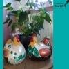 kippen van keramiek beschilderen