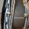 ibiza kandelaar grijs