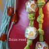 ibiza kandelaar rood