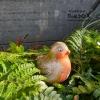 vogeltje roodborstje zelf maken voor in de tuin