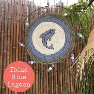 Ibiza wandhanger met vis, diypakket