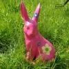 roze tuinhaas beschilderen